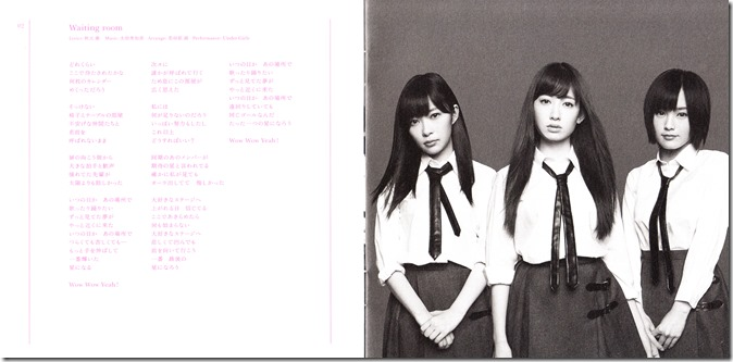 AKB48 So Long! booklet scans (3)