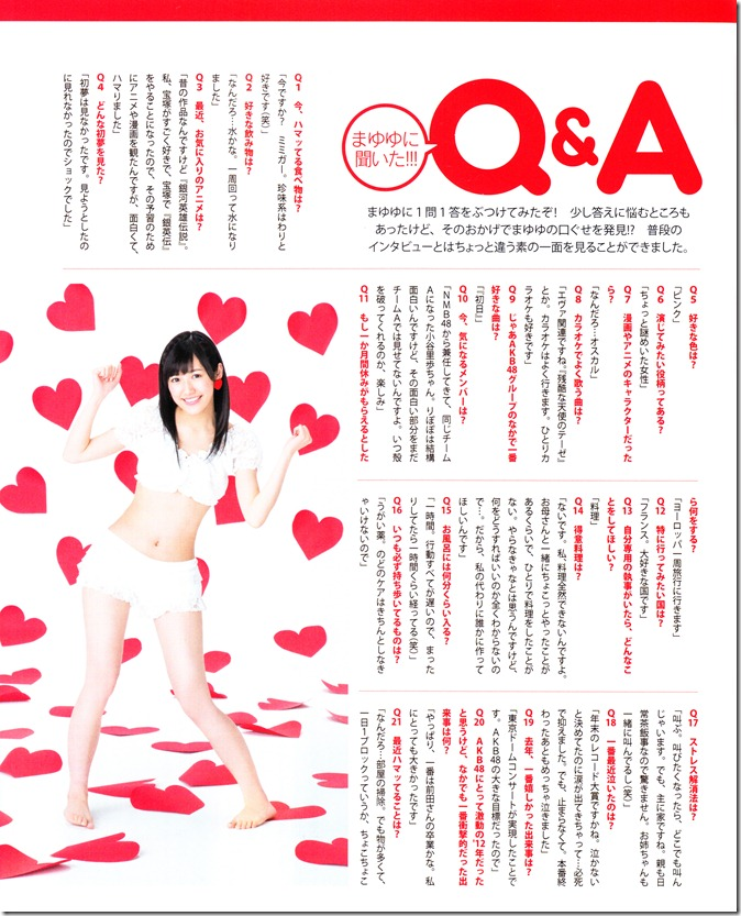 Bomb March 2013 (covergirl Mayuyu♥) (13)