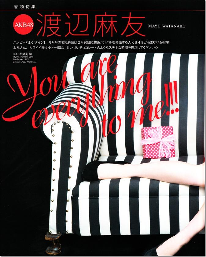 Bomb March 2013 (covergirl Mayuyu♥) (4)