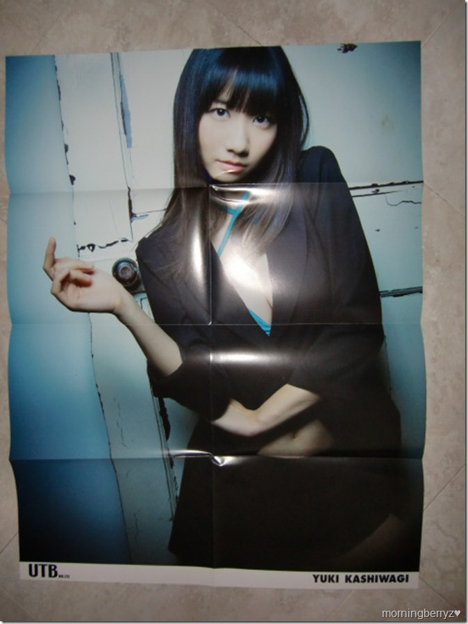 utb vol.212 february 2013 Yukirin large poster extra