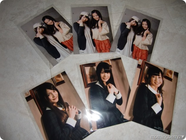 AKB48 So long! single types A, K & B first press photos (release & Neowing)