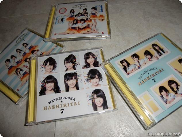 """Watarirouka Hashiritai7 """"Hetappi Wink"""" types A, B, C & regular edition"""