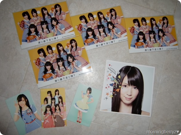 "Watarirouka Hashiritai7 ""Hetappi Wink"" first press cards, Neowing photos & reversable cover extra"