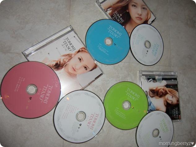 Itano Tomomi Fui ni LE singles types A, B & C