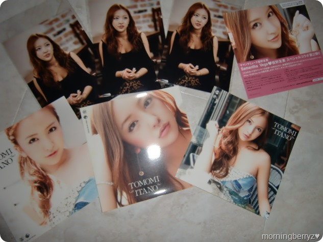 Itano Tomomi Fui ni first press stickers and Neowing exclusive photos