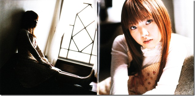 """Abe Asami """"wishes"""" booklet scan"""