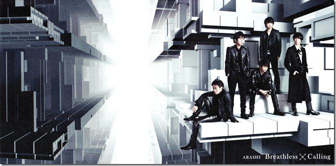 "ARASHI ""Calling""/ ""Breathless"" LE type B booklet"