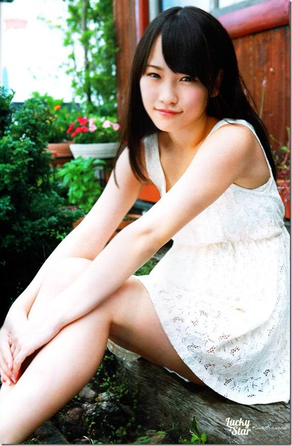 Kawaei Rina in Weekly Big Comic (2)