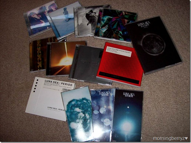 My Luna Sea collection...