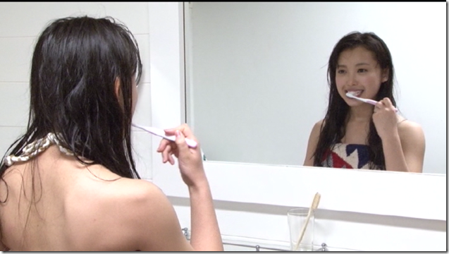 Nakajima Saki in Nakasan making of (110)