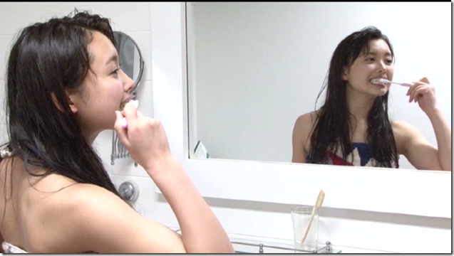 Nakajima Saki in Nakasan making of (111)