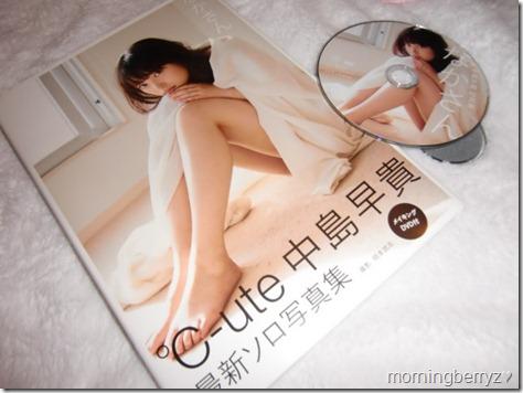 "Nakajima Saki shashinshuu ""Nakasan"" with making of DVD"