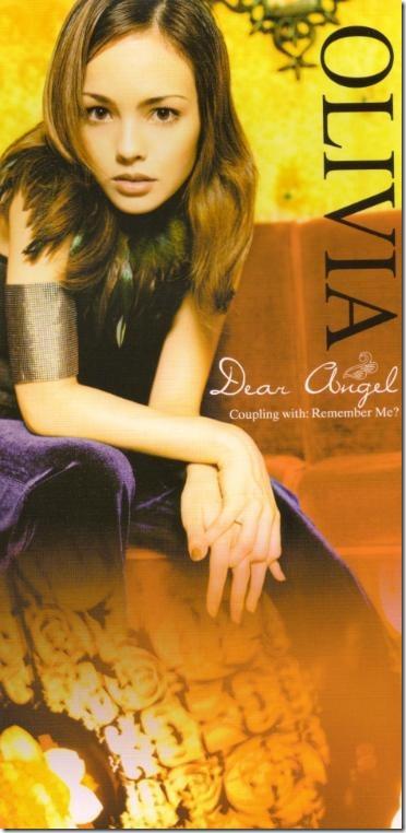 Olivia Dear Angel CD single (front scan)
