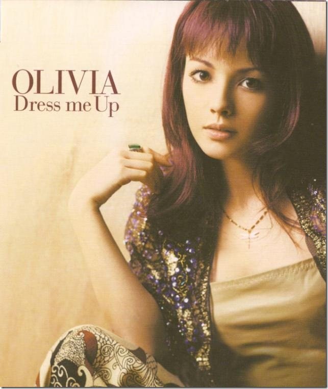 Olivia Dress Me Up CD single (cover scan)