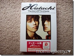Tackey & Tsubasa Hatachi first press box set