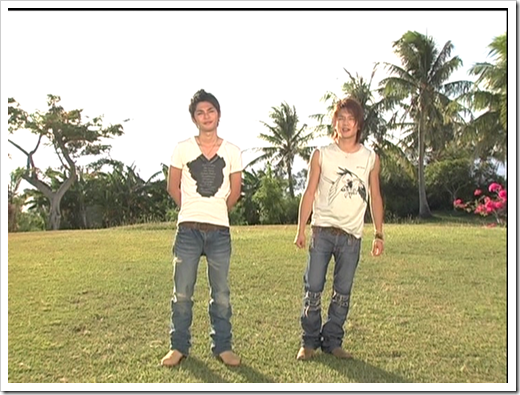 Tackey & Tsubasa in Ho! Summer dance lesson   off shots (1)