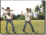 Tackey & Tsubasa in Ho! Summer dance lesson   off shots (2)