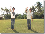 Tackey & Tsubasa in Ho! Summer dance lesson   off shots (3)