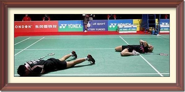 Badminton fail