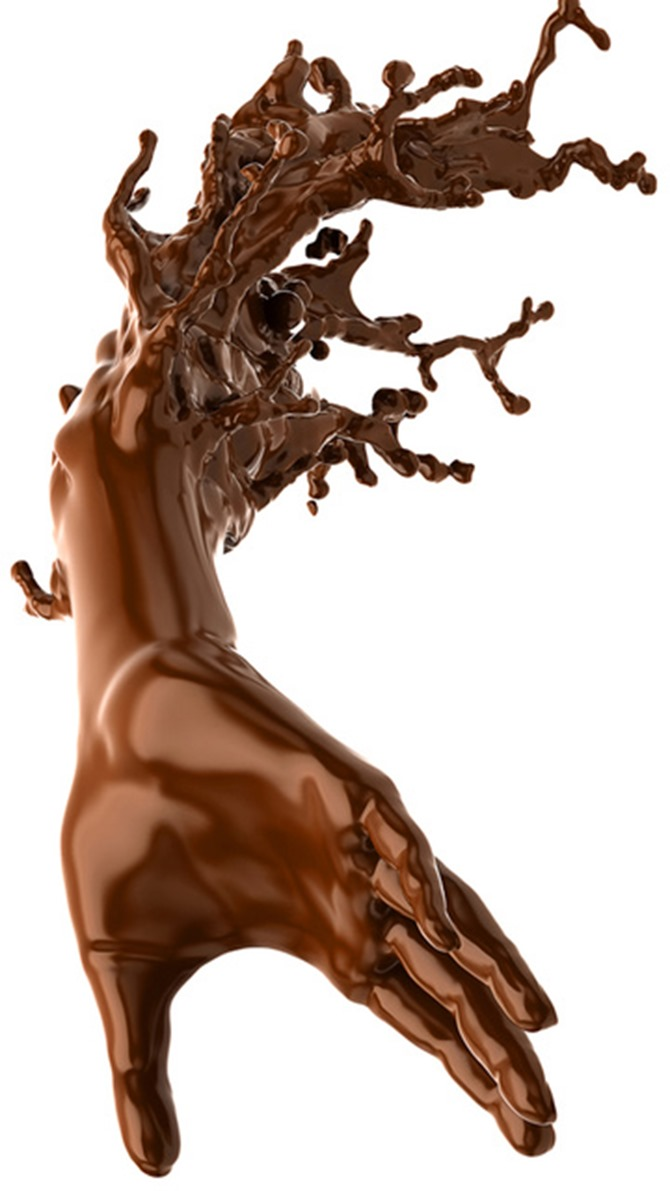 creepy chocolate... =O