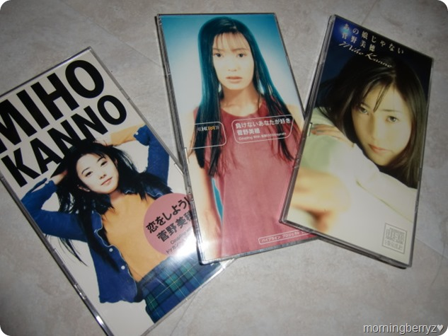 Kanno Miho singles