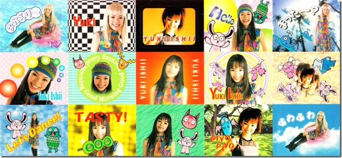 Ishii Yuki Neat Girl Age CD single first press purikura sticker sheet