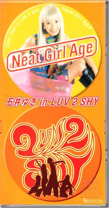 Ishii Yuki Neat Girl Age CD single jacket scan (front)