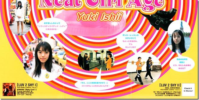 Ishii Yuki Neat Girl Age poster (reverse side 2)