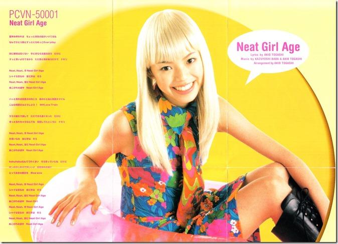 Ishii Yuki Neat Girl Age poster scan