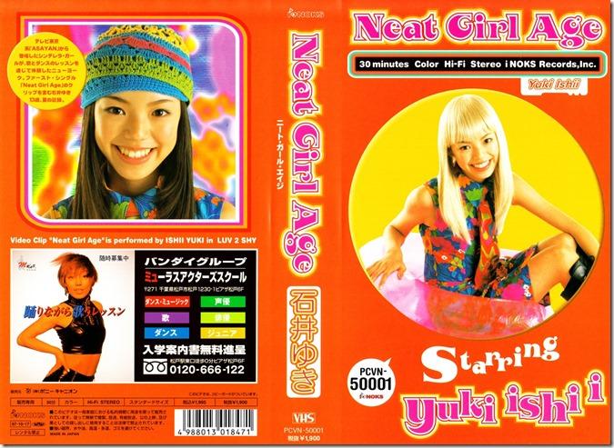 Ishii Yuki Neat Girl Age VHS release jacket scan