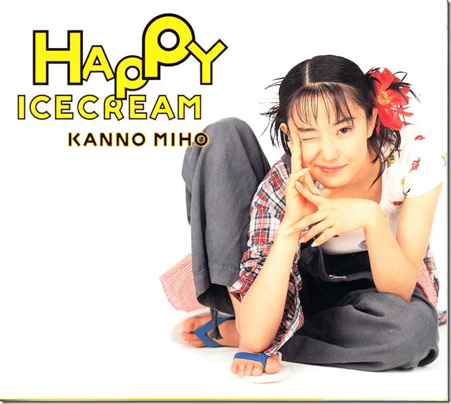 Kanno Miho Happy Ice Cream first press (outer slip case scan front)