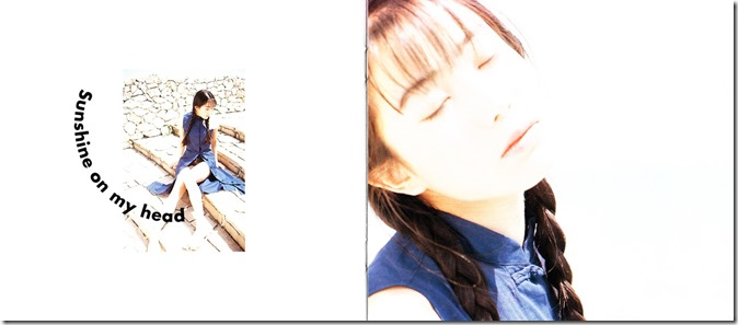 Kanno Miho Happy Ice Cream first pressing photo booklet (9)