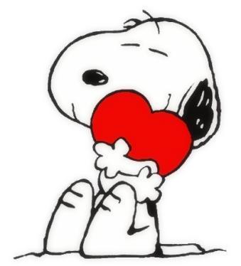 Snoopy♥...