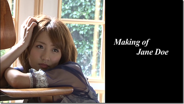 Takahashi Minami in Jane Doe making of (1)