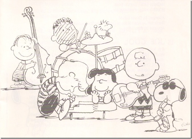 The Peanuts jazz it up!