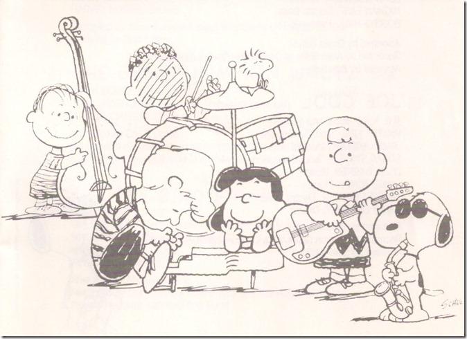The Peanuts jazz it up!