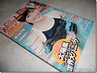 Weekly Playboy 2013.4.29 issue with life sized Watanabe Mayu poster