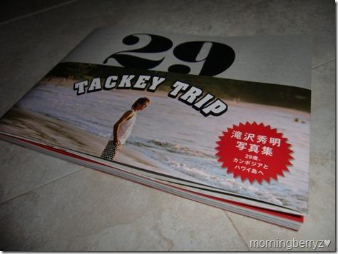 Takizawa Hideaki Tackey Trip 29 shashinshuu