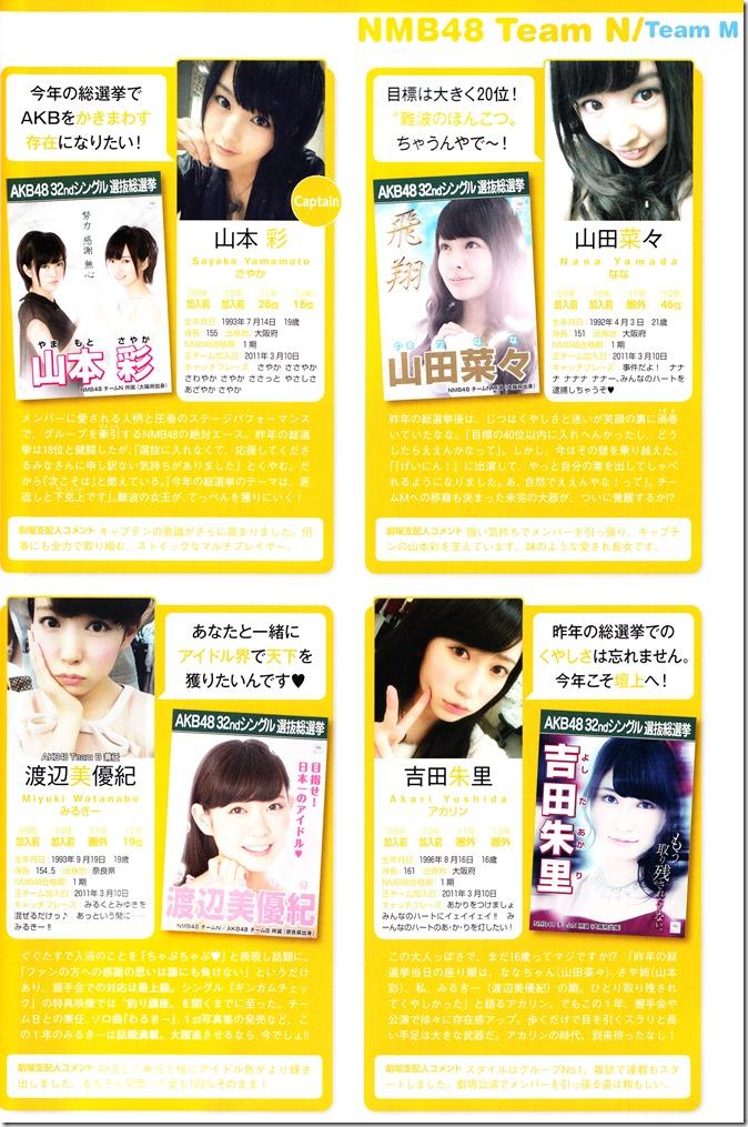 AKB48 Sousenkyo Official Guide Book (101)
