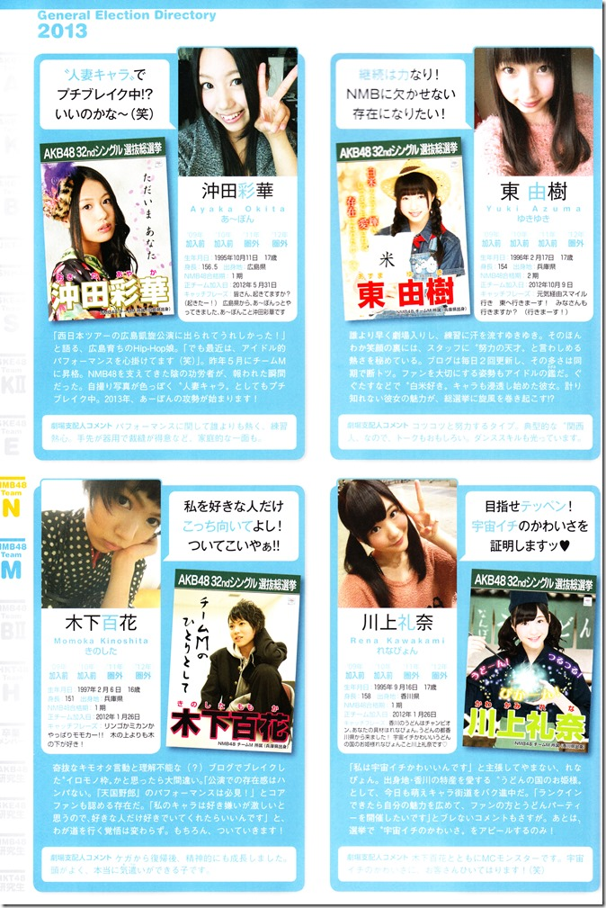 AKB48 Sousenkyo Official Guide Book (102)
