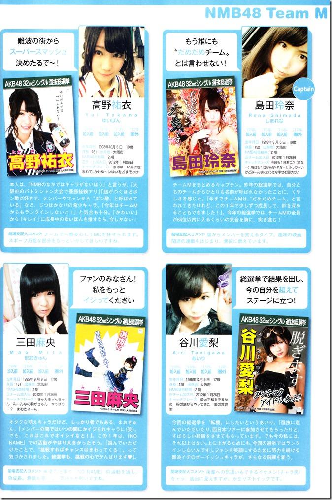 AKB48 Sousenkyo Official Guide Book (103)