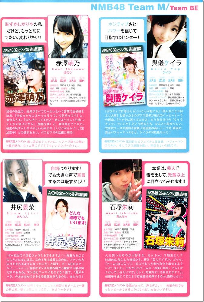 AKB48 Sousenkyo Official Guide Book (105)