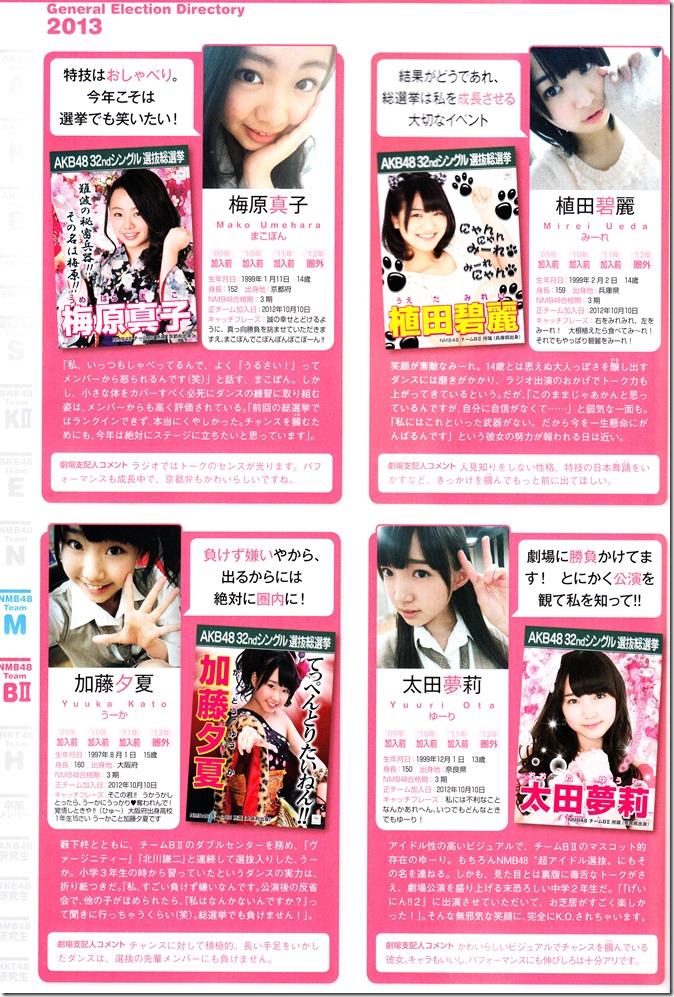 AKB48 Sousenkyo Official Guide Book (106)