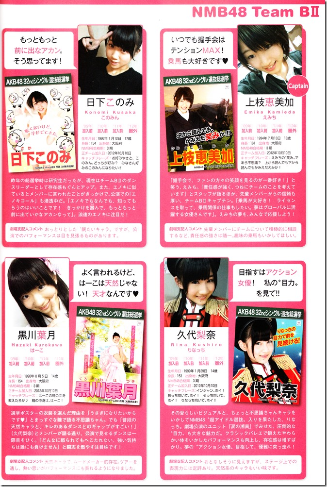 AKB48 Sousenkyo Official Guide Book (107)