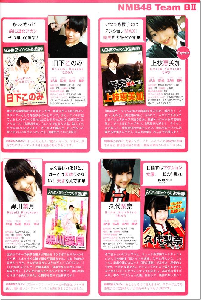 AKB48 Sousenkyo Official Guide Book (107)