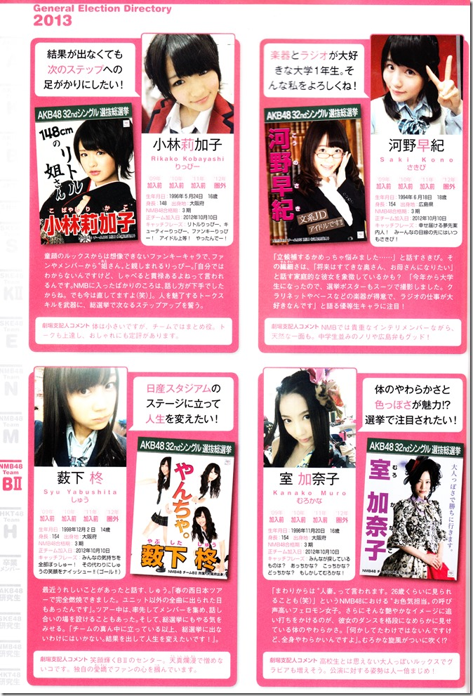 AKB48 Sousenkyo Official Guide Book (108)