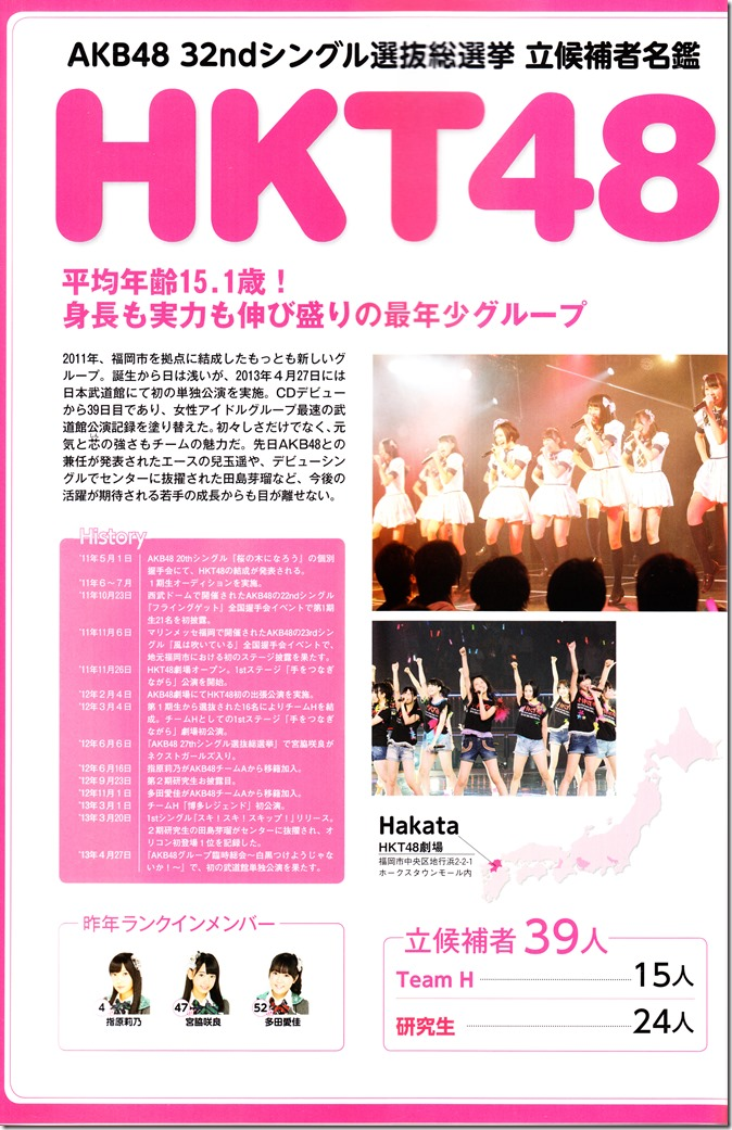 AKB48 Sousenkyo Official Guide Book (110)
