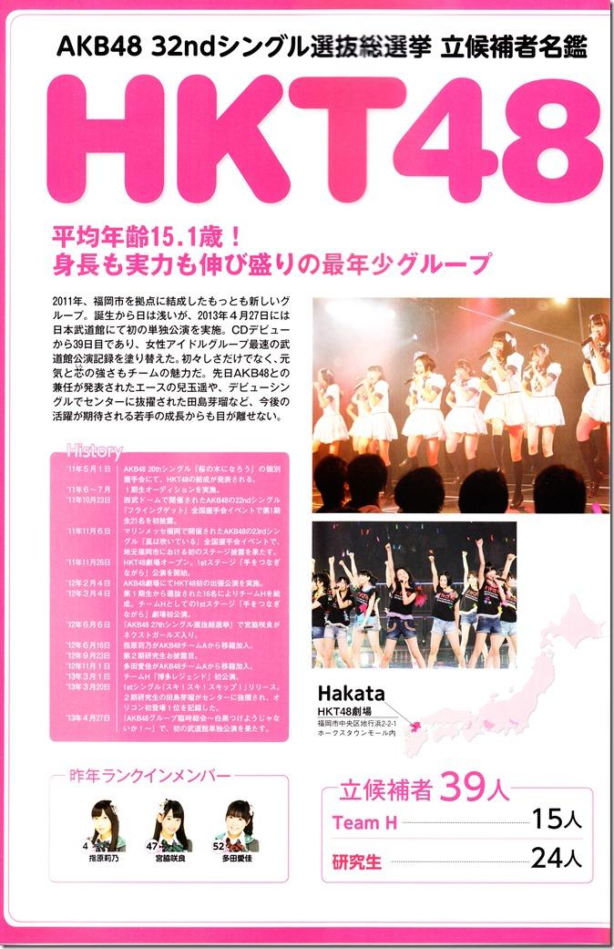 AKB48 Sousenkyo Official Guide Book (110)