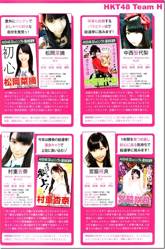 AKB48 Sousenkyo Official Guide Book (113)