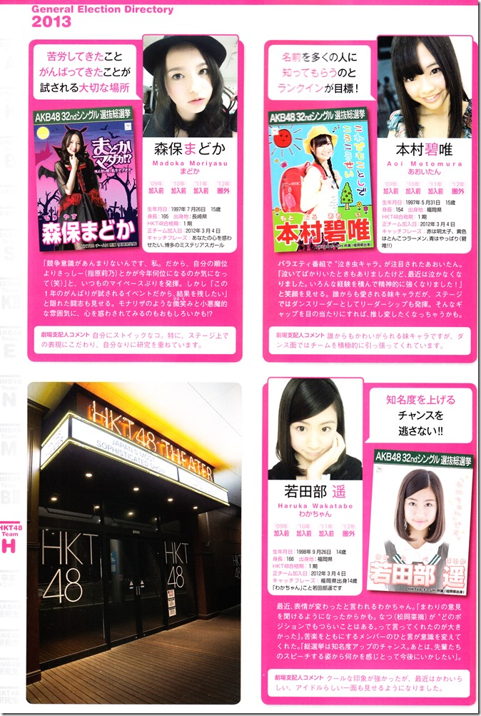 AKB48 Sousenkyo Official Guide Book (114)